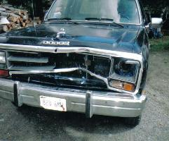 dodge ram attacked